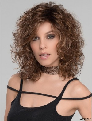 Shoulder Length Lace Front Brown 14 inch Classic Style