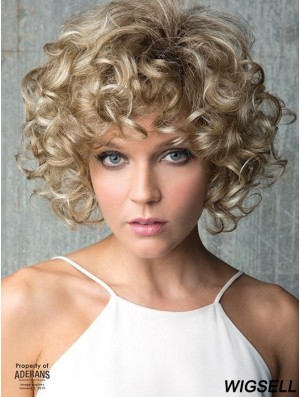 """Chin Length Lace Front Blonde 10"""" Classic Wigs"""