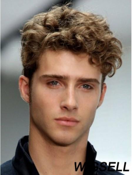 Synthetic Wavy Capless Short Boycuts Buy Men Wigs Online