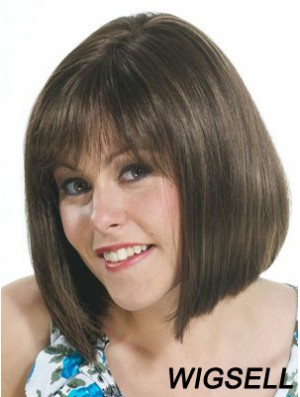 Bob Wig Chin Length Straight Wig For Sale 10 Inch