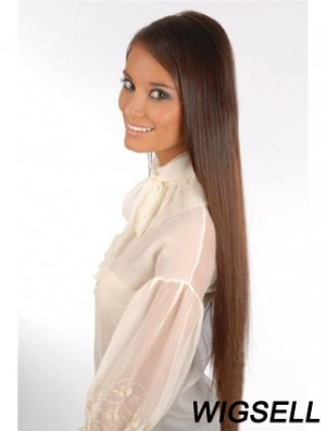 Incredible Auburn Straight Remy Human Hair Clip In Hair Extensions