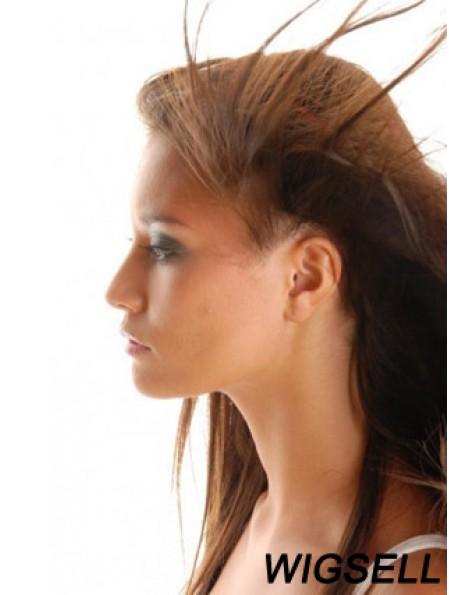 Good Auburn Straight Remy Human Hair Clip In Hair Extensions