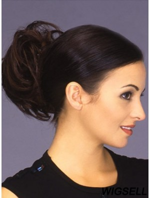 Brown Clip In Buns