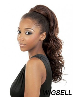 Gorgeous Brown Synthetic Wavy Hair Falls